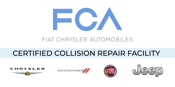 FCA - Certified Collision Repair Facility